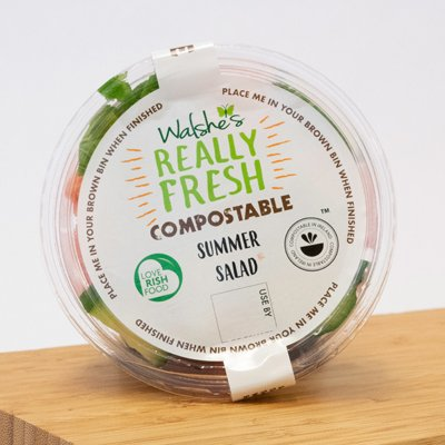 Compostable Summer Salad
