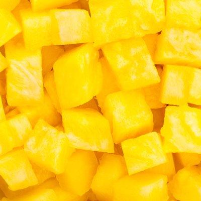 Frozen Pineapple Cubes